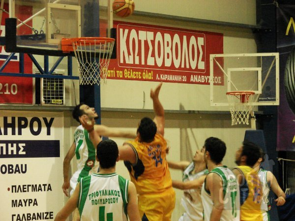ΑΕΣΑΦ Κούρος-Τριφυλλιακός Πολ. 67-71