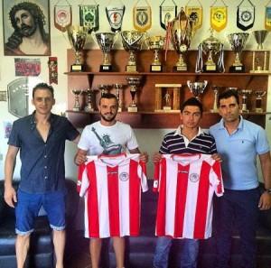 Δύο νέα ποδοσφαιρικά ταλέντα της Ανατολικής Αττικής στον Ολυμπιακό Λαυρίου