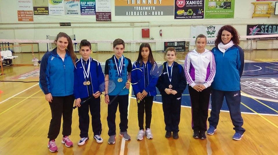 Νέες επιτυχίες του Ο.Α.Λαυρίου στο περιφερειακό πρωτάθλημα Badminton