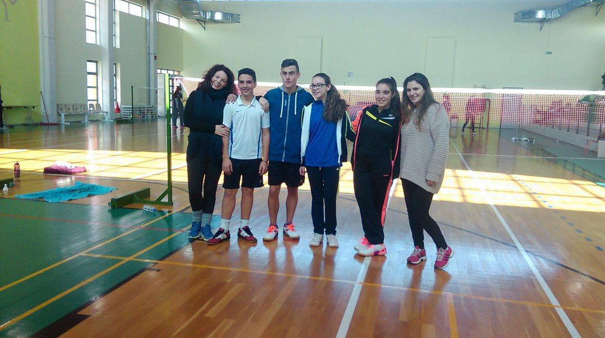 Ο.Α. Λαυρίου: Επιτυχίες αθλητών του στο πρωτάθλημα Badminton