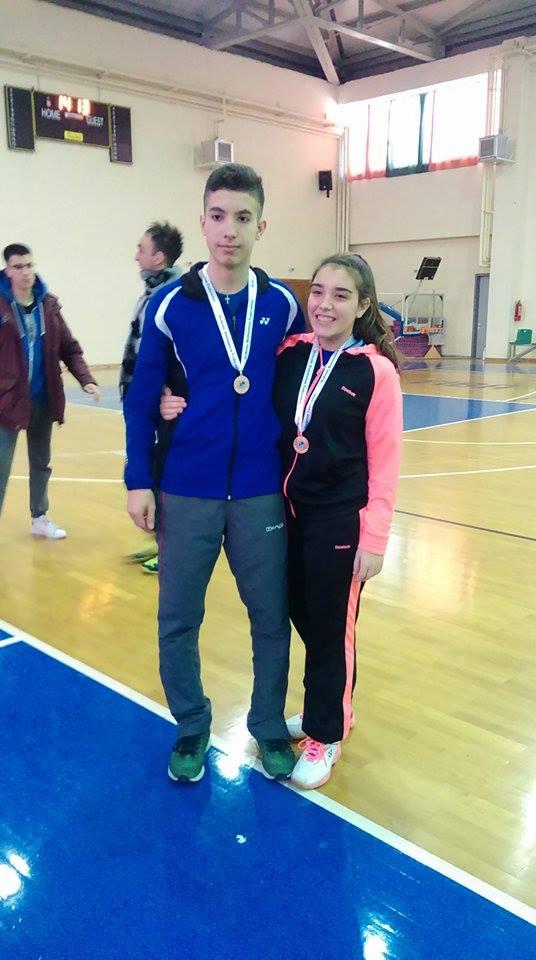 Badminton: Τρίτη στο Πανελλήνιο Πρωτάθλημα U19 η Κ.Παπαδοπούλου