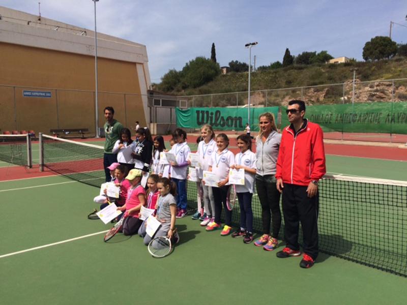 Τουρνουά ακαδημιών τένις στο Λαύριο