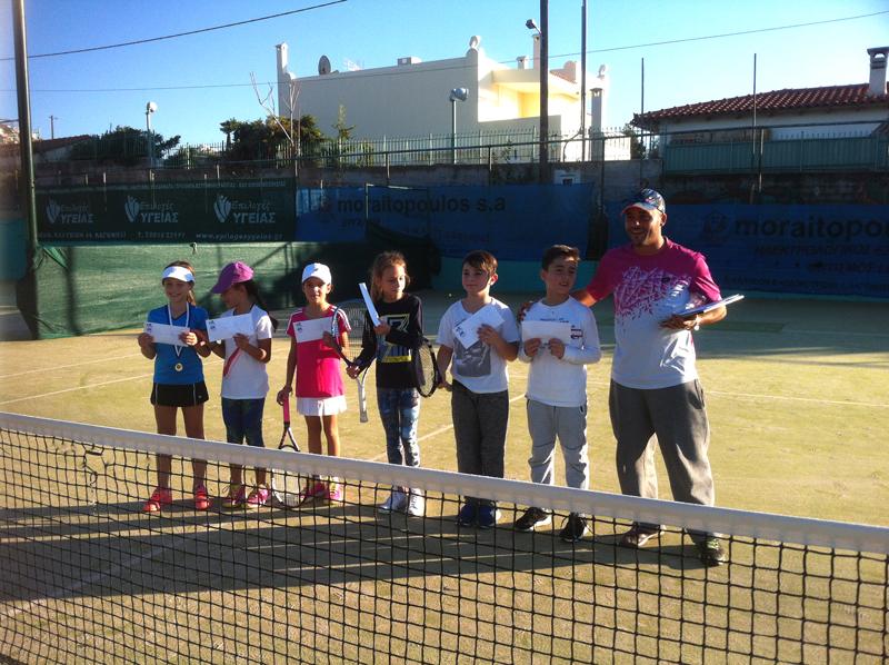 Ακαδημίες τένις σε δράση!