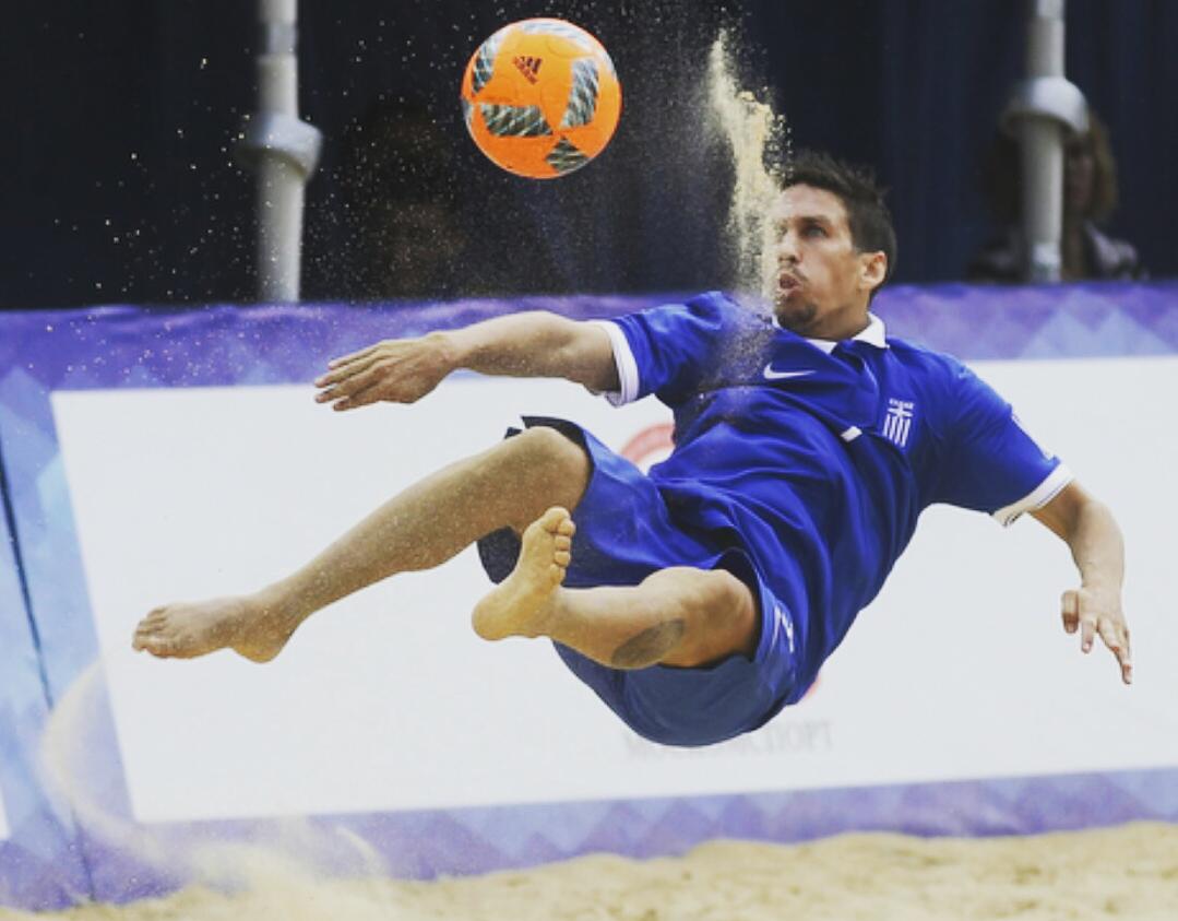 Σταύρος Αμανατίδης: Το Beach Soccer μέσα από τα μάτια ενός διεθνή παίκτη
