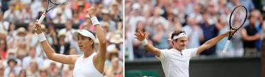 Wimbledon: Μουγκουρούθα και Φέντερερ οι νικητές!