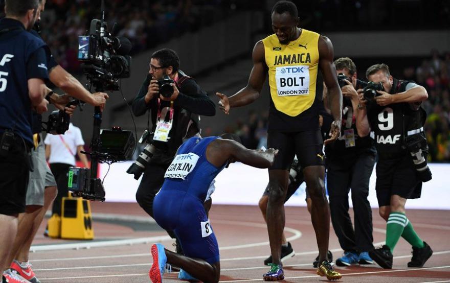 Παγκόσμιο στίβου: Ο Γκάτλιν νίκησε τον Μπολτ στα 100μ.