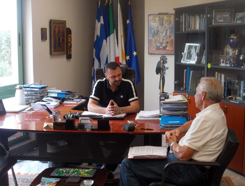 Γιώργος Σωφρόνης: Είμαι υπέρ της δημιουργίας μίας ομάδας ποδοσφαίρου