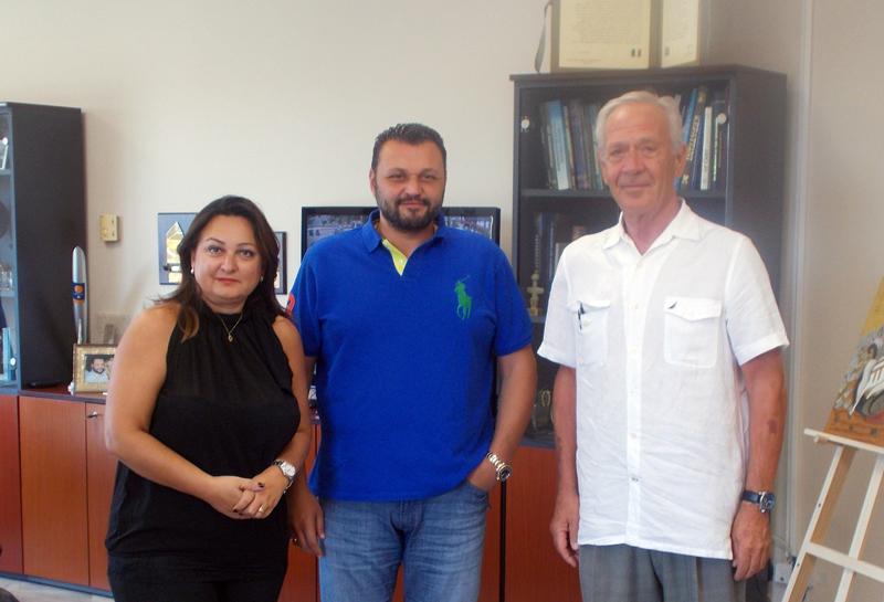 Συνάντηση με το δήμαρχο κ.Σωφρόνη είχε ο Όμιλος Αντισφαίρισης ΣΠΟΡΤΣΙΤΥ