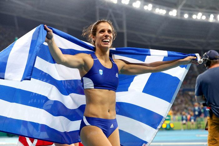 Κορυφαία αθλήτρια η Κατερίνα Στεφανίδη
