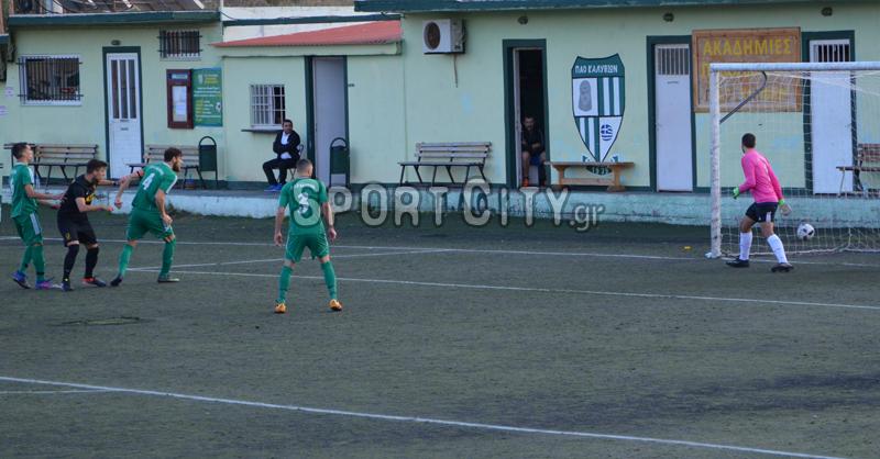 Καλύβια – Παλληνιακός 0-2