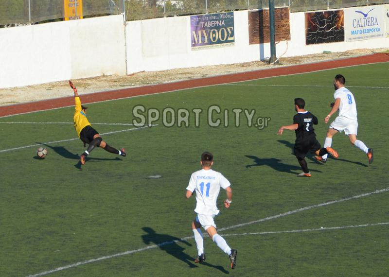 Σαρωνικός – Μαύρος Αετός 1-0