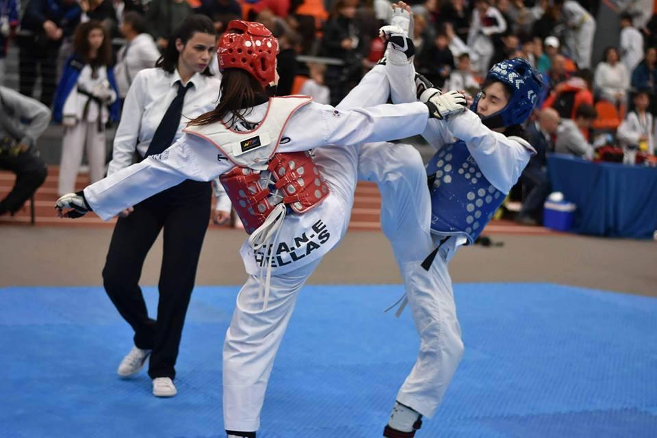 Σημαντική διάκριση αθλήτριας από το Λαγονήσι σε διεθνές τουρνουά TAE KWON DO