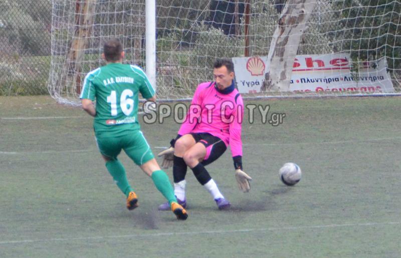 Καλύβια – Κορωπί 2-0